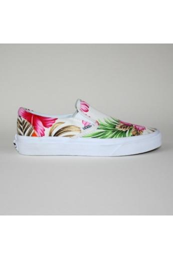 VANS CLASSIC SLIP ONE HAWAIIAN FLORAL női slip-one, cipő, többszínű színben, VN-0 0MEFG0 modell
