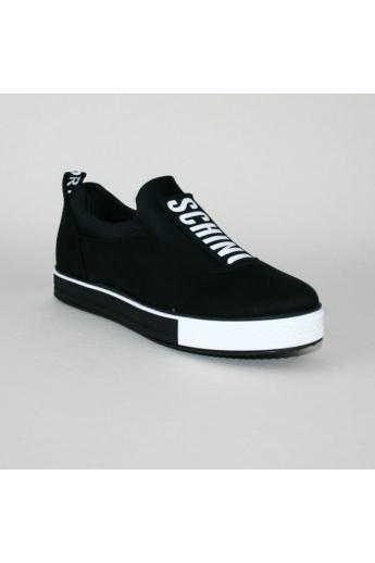 EMMA női sportos cipő sneaker- fekete