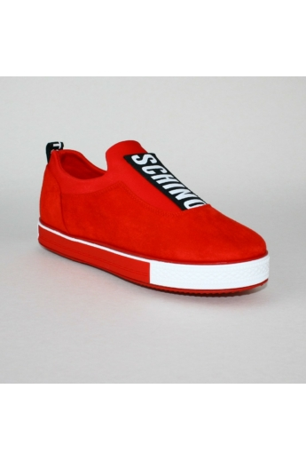 EEMMA női sportos cipő sneaker- piros