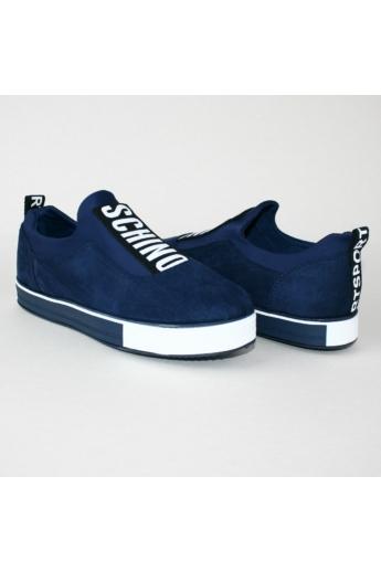 EMMA női sportos cipő sneaker- sötétkék