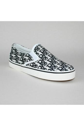 ESTER női kényelmi cipő slip-one- fekete mintás