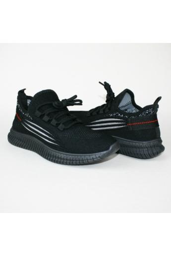 GRETI női sportos cipő sneaker-fekete