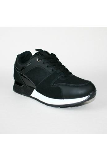 LARA női sportos cipő sneaker-fekete
