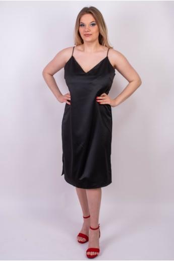 LOVE&DIVINE női ruha, kellemes fekete színvilággal, LOVE211 modell,