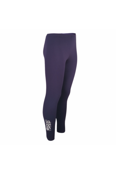 Dressa Jersey női pamut leggings - lila | S