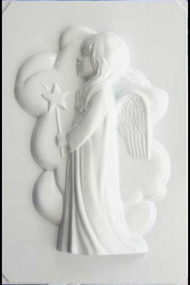 Öntőforma - Nagy angyal csillaggal