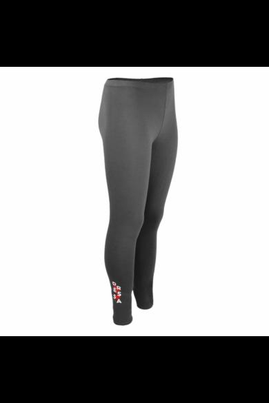 Dressa Teen Jersey pamut leggings lányoknak - sötétszürke | XS