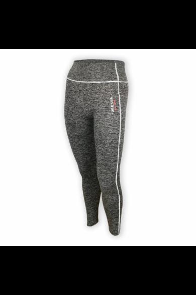 Dressa Recycled női fitness leggings - szürke-fehér