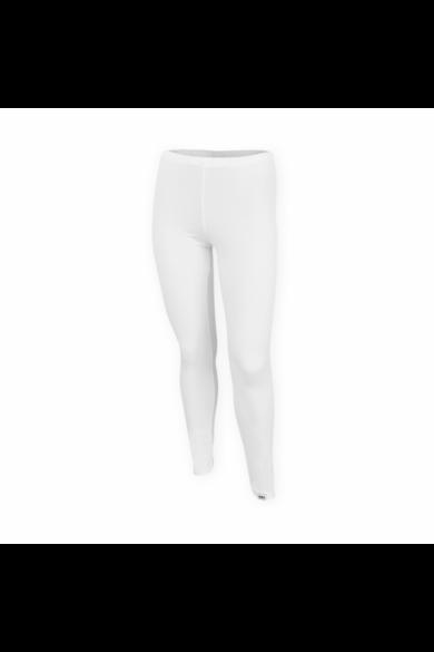 Dressa DRS női pamut leggings - fehér | S