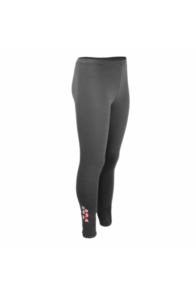 Dressa Jersey női pamut leggings - sötétszürke   S