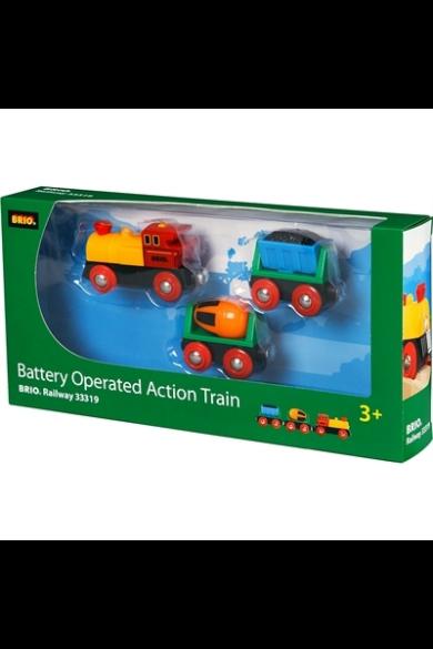 Elemes Action mozdony 33319 Brio