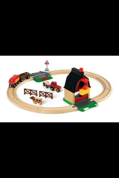 Farm vonat szett 33719 Brio