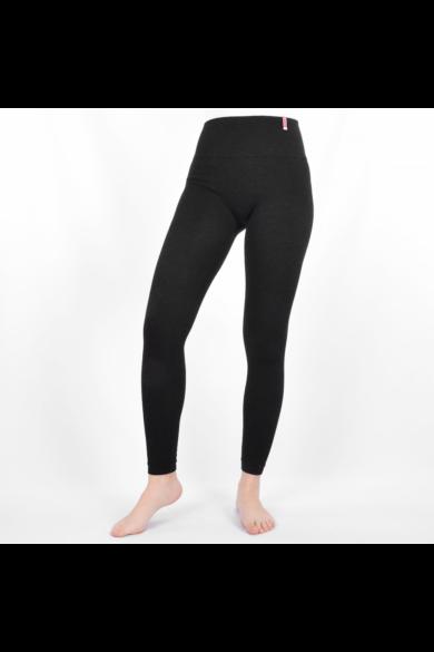 Dressa pamut-bambusz bielasztikus leggings - fekete