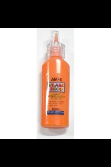 Narancssárga üvegfesték 22 ml