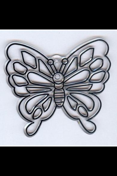 Kifesthető műanyag kép S-es méret - Pillangó