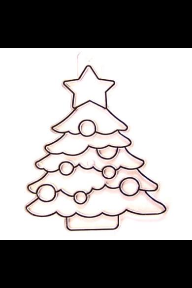Kifesthető műanyag kép S-es méret - Karácsonyfa