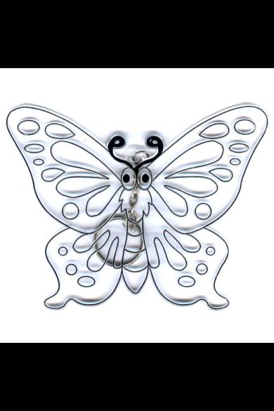 Kifesthető műanyag kép M-es méret - Pillangó