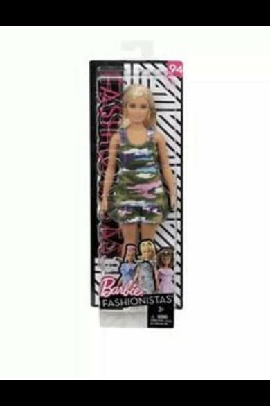 Barbie Fashionista barátnők - Barbie terepmintás ruhában