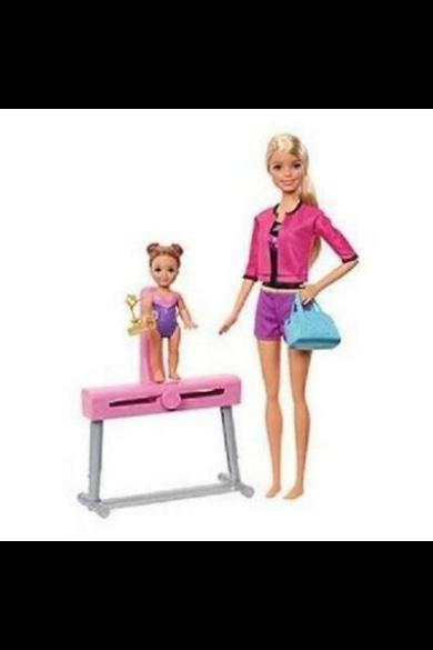 Barbie edző karrier játékszett - tornaedző