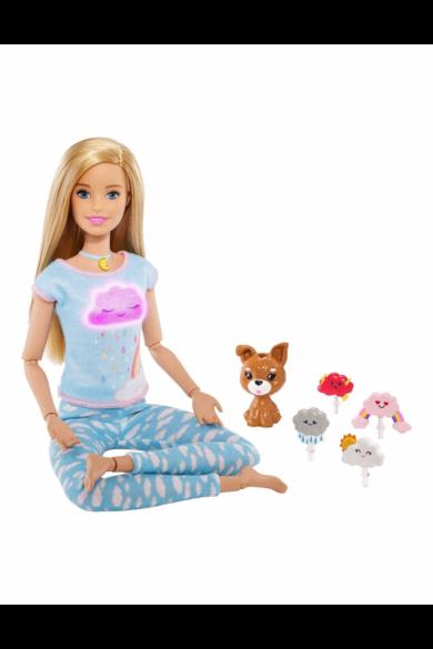Barbie meditációs jóga baba
