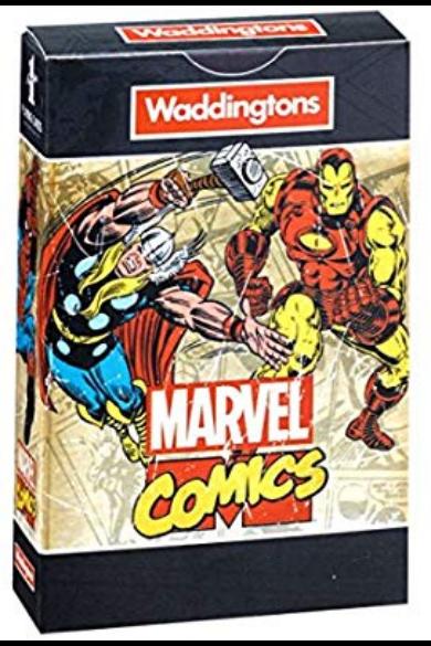 Waddingtons Marvel Retro kártya