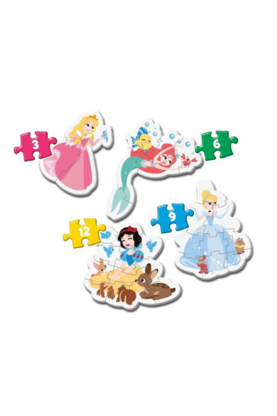3, 6, 9, 12 db-os Play for future mini puzzle Disney Princess
