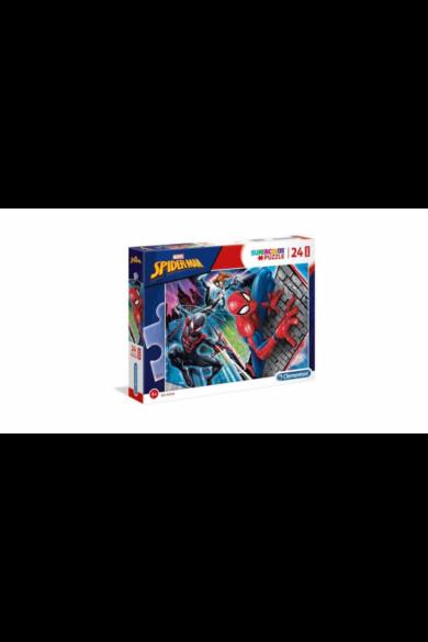 24 db-os SuperColor Maxi puzzle - Pókember