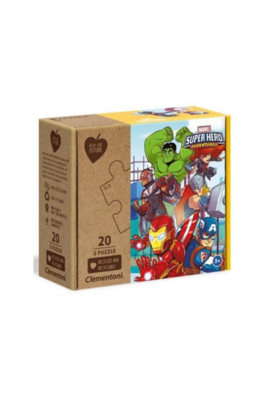 2x20 db-os Play for future puzzle - Marvel
