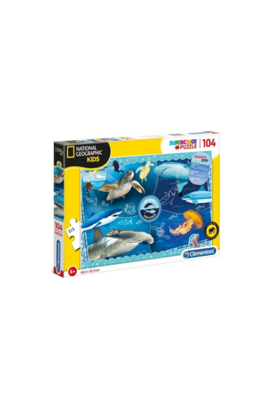 104 DB-OS PUZZLE  - NATIONAL GEOGRAPHIC Clementoni
