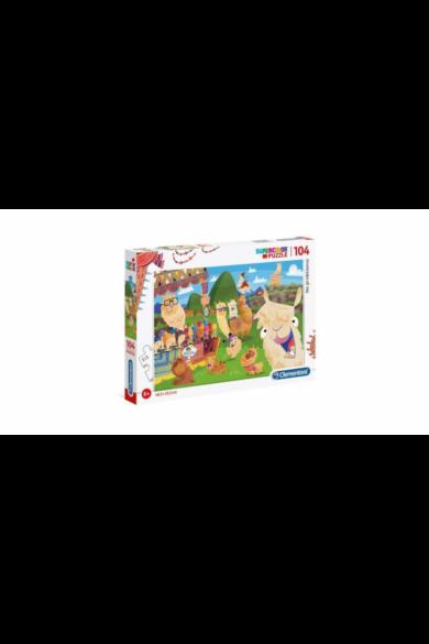 104 db-os SuperColor puzzle - No probLÁM