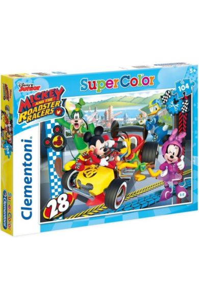 104 db-os SuperColor puzzle - Mickey és