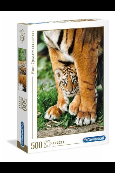 500 DB-OS PUZZLE - BENGÁLI TIGRIS KÖLYÖK Clementoni