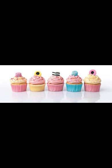 1000 db-os Panoráma puzzle - Cupcakes