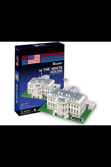 3D puzzle Fehér Ház 64 db-os CubicFun
