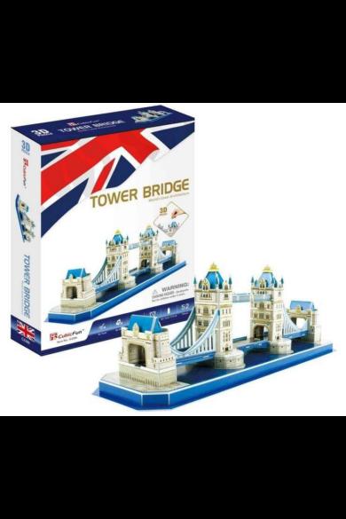 3D puzzle Tower Bridge 52 db-os CubicFun