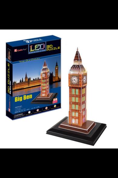 3D puzzle Big Ben világító CubicFun