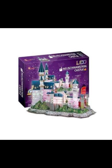 3D puzzle Neuschwanstein világító CubicFun
