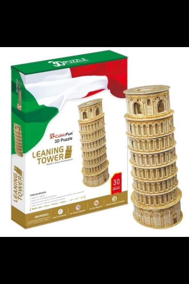 3D puzzle Pisai ferde torony 30 db-os CubicFun