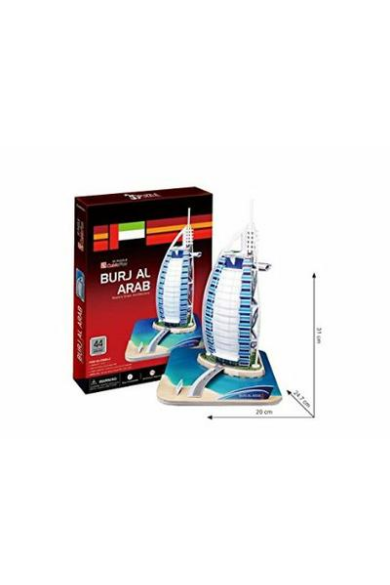 3D puzzle kicsi Burj Al Arab 44 db-os CubicFun