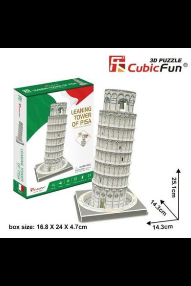 3D puzzle kicsi Pisa torony