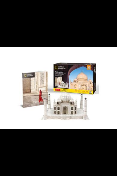 3D puzzle Taj Mahal Nat. Geo. Fotóalbummal (87 db-os)