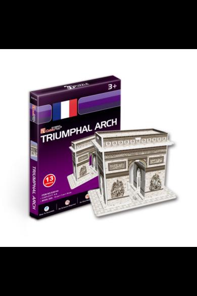 3D puzzle Triumphal Arch 13 db-os CubicFun