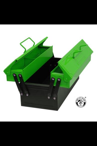 Szerszám tárolódoboz, zöld