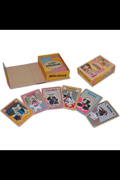 Deglingos családgyűjtő játékkártya - Boldog család