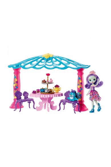 Enchantimals baba kerti pavilonnal