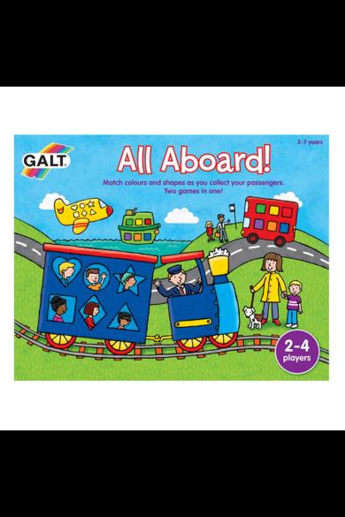 Mindenki a fedélzetre! szín- és formafelismerő játék Galt