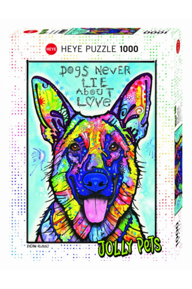 HEYE PUZZLE 1000 DB - DOGS NEVER LIE