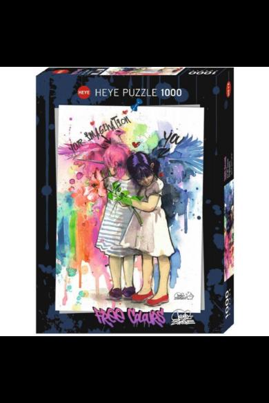 HEYE PUZZLE 1000 DB - IMAGINATION