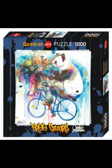 HEYE PUZZLE 1000 DB - UNIVERSE CREATOR, FREE COLOURS