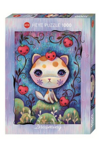 HEYE PUZZLE 1000 DB - STRAWBERRY KITTY